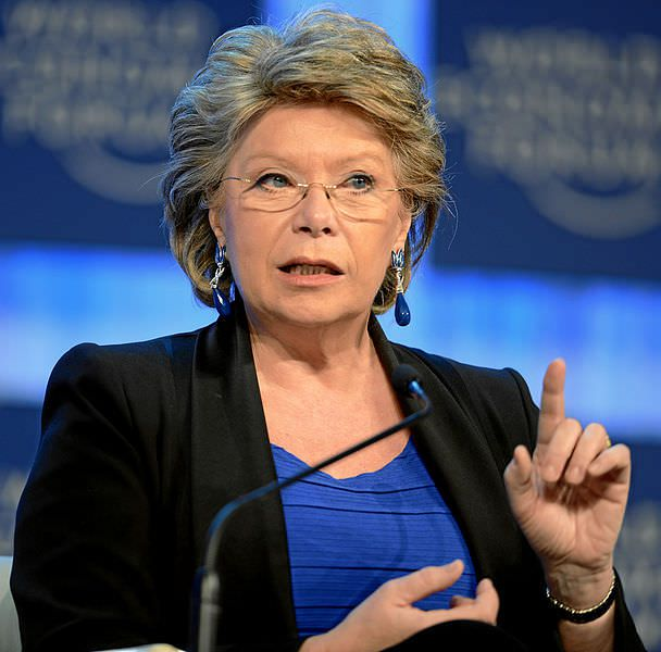 Viviane Reding, EU Vice-President and Commissioner