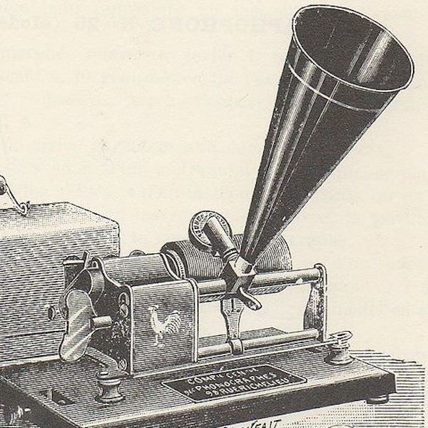 Pathe phonograph 1898